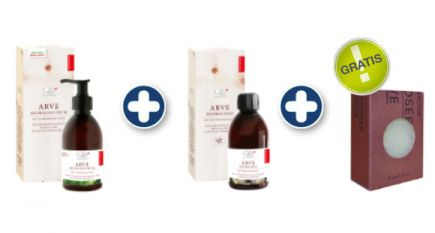 Aromalife Arve Wellness Set mit gratis Seife
